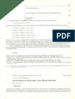 J.E. Paulun, R.B. Pecherski, ZAMM, Z. angew. Math. Mech., 72, 4, T185-T190, 1992