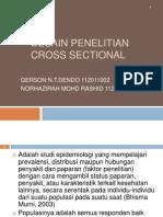 Desain Penelitian Cross Sectional