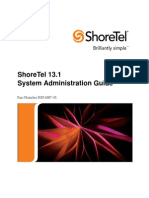 Shoretel 13.1 Admin Guide
