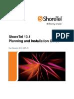 Shoretel 13.1 Install Guide
