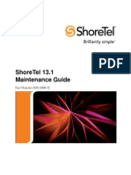Shoretel 13.1 Maintenance Guide