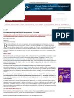 Understanding the Risk Management Process