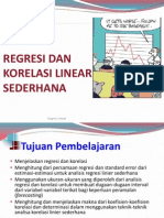 Materi Regresi Linear