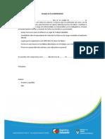 2013 08 23 Modelo Acta Compromiso