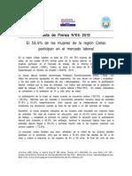 Nota de Prensa Nº 05 - 2012