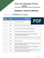 Escuela de Mentores-School of Mentors.1-8