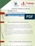 Indicadores Básicos de la Región Ica