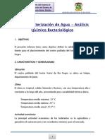 Caracterizacion Quimico y Bactereologico