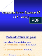 Geometria No Espaco II PowerPoint 1