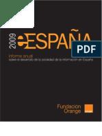 Información Fundación Orange e2009