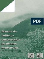 Manual de Cultivo y Plantas Medicinales