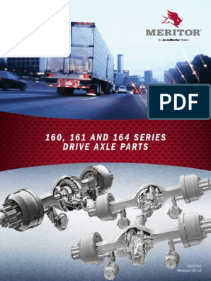 MERITOR 160 161 and 164 Serie Drive Axle Parts Spb9250