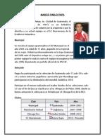 Biografia de 10 Futbolistas Guatemaltecos
