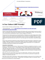 Is Your Culture LGBT Friendly_ - Diversity Executive