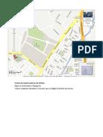 Ubicacion Centro de Salud Laderas de Chillon
