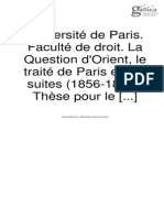Question de Orient