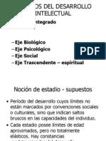 ESTADÍOS EVOLUTIVOS 2010 psico cult niños