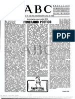 ITINERARIO POÉTICO (III) Octavio Paz
