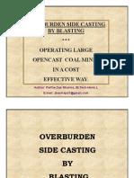 Over Burden Side Casting
