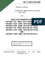 TM 11-5815-334-20P