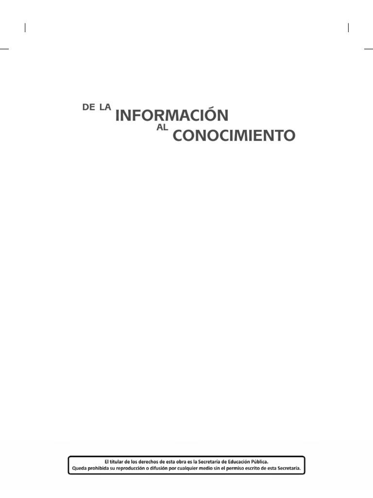 01-De la Informacion al Conocimiento BN.pdf