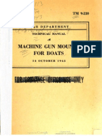 TM 9-230 'Machine Gun Mounts for Boats' (1943)