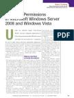 CommonPermissions inmicrosoftWindowsserver 2008andWindowsvista