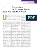 Common	Permissions		 in	microsoft	Windows	server	 2008	and	Windows	vista