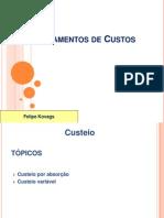 Fundamentos de Custos Custeio e Margem Contribuicao Unitaria