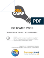 Ideacamp 2009 - 9 Thesen zur Zukunft des eTourismus