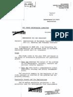 Ingersol Exec Summ of---The Kissinger Report NSSM200