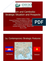 Thayer Cambodia and Vietnam Strategic Situation