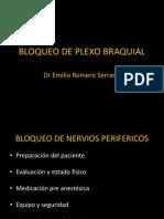 Bloqueo de Plexo Braquial