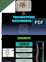 Trauma Raquimedular