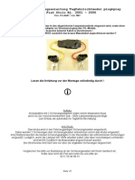 Einbau-Bedienungsanleitung TFL- Fiat Stilo