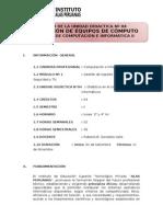 SILABO DIDACTICA EN REPARACIÓN DE EQUIPOS DE CÓMPUTO