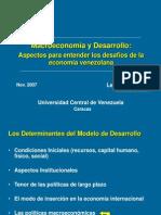 18 Macroeconomia y Desarrollo Vzla