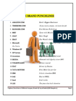 Punch Lines (Company and Brand)