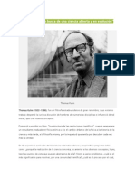 Thomas Kuhn y Foucault