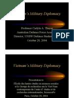 Thayer Vietnam's Military Diplomacy 2004