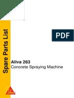 Sika 263.000 Parts Manual
