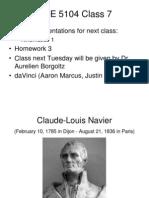 Class 7 - Constitutive Relations
