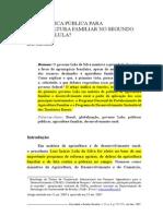 Sabourin - Politica de Agricultura Familiar Governo Lula, 2007