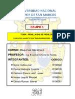 TRABAJO GRUPO 1 MAQUINAS ELÉCTRICAS