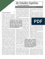 Revista de Estudos Espíritas - 2006 - Agosto