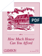 Homeowners Budget