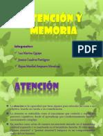 Atención y memoria