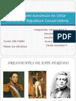 Crecimiento económico en Chile durante la República Conservadora