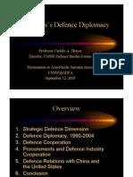 Thayer Vietnam's Defence Diplomacy 2005