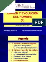 3-Tercera Clase-Origen y Evolucion Del Hombre (II)-21ago13